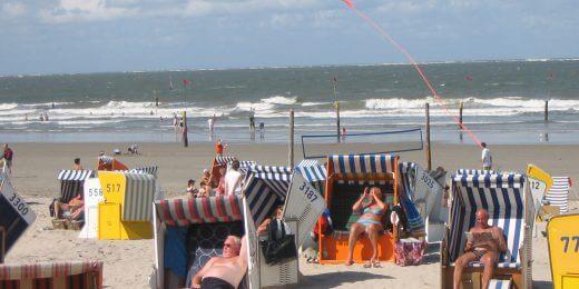 AM Strand im Mai