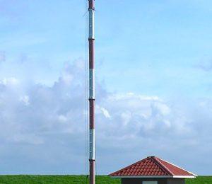 Norderney Mast der Windmessstation