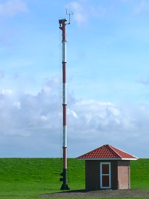 Norderney Mast der Windmessstation