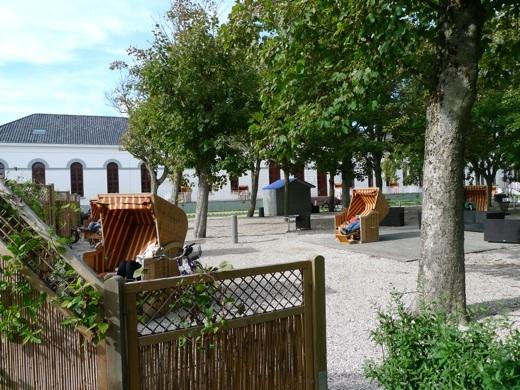 Der südliche Kurplatz - Kurgarten