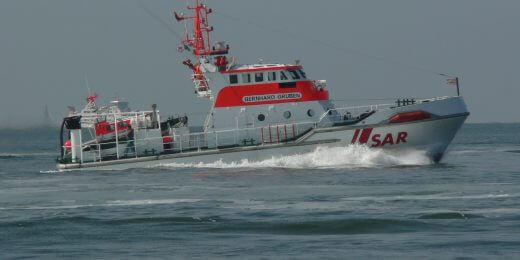 Rettungsbootschuppen
