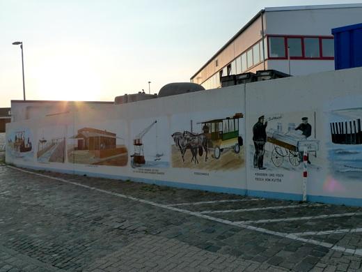 Hafenmauer Norderney