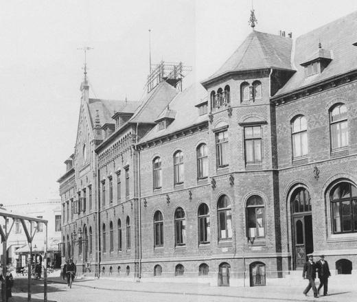 Post um 1900