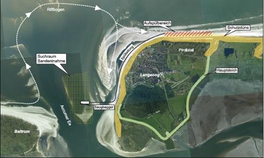 Langeoog - Strandaufspülung
