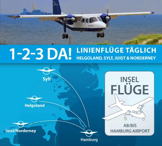 Neue Flugverbindung Norderney HH