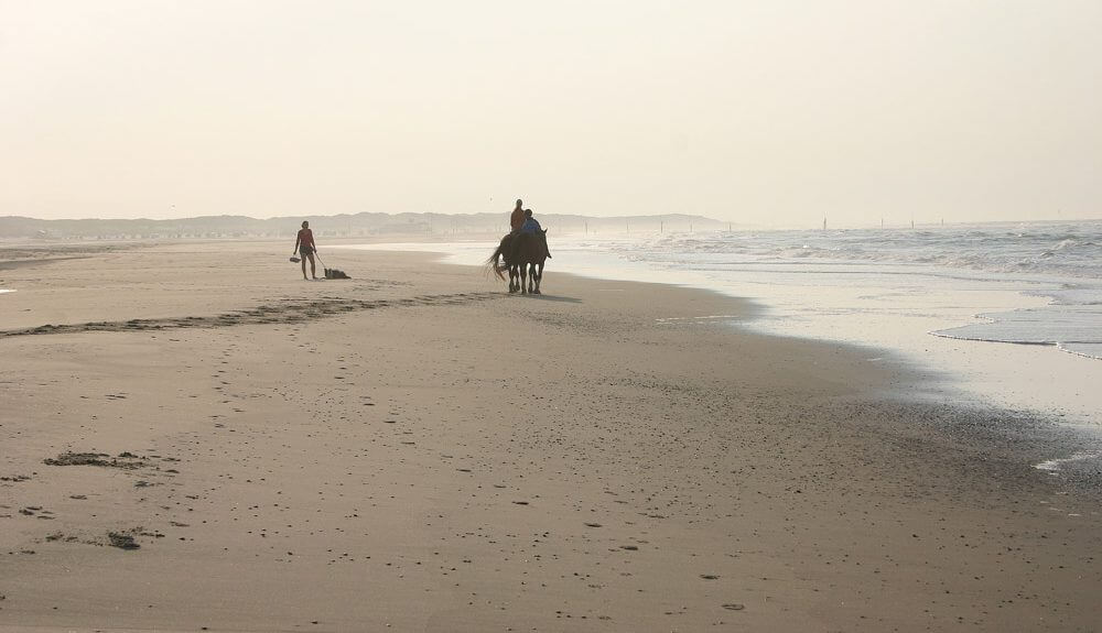 Reiten am Strand von Norderney