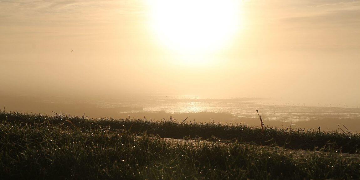 Sonnenaufgang - Wattenmeer