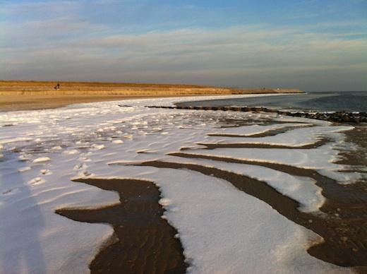Strand Norderney 22.2.2011
