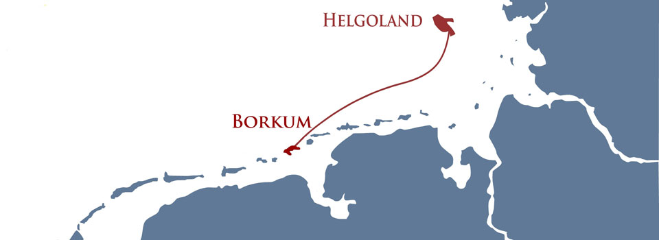 Borkum Helgoland Borkum