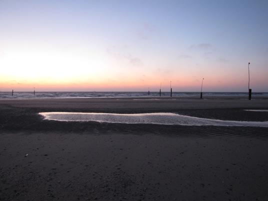Norderney Morgenröte Strand