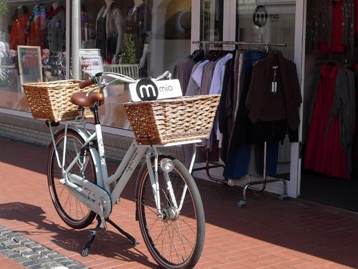 Fahrrad Norderney Werbung