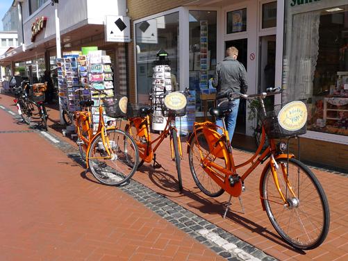 Sanddornstübchen Werbung Fahrrad