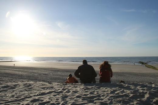 Angekommen Nordsee - Norderney