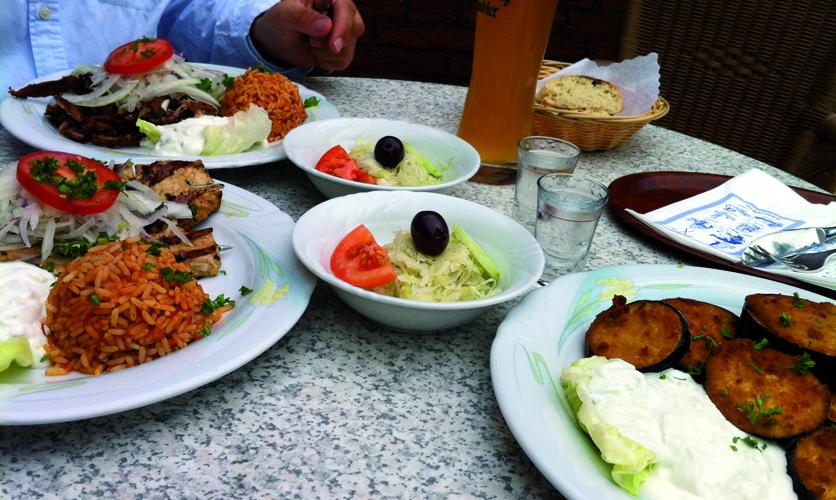 Restaurant Essen Norderney Athen