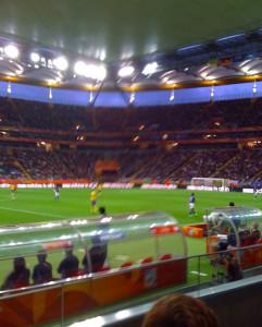 Frankfurt - Halbfinale