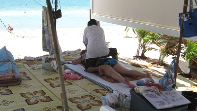 Strandmassage