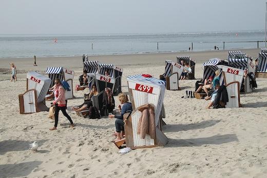 Septemberstrand Norderney