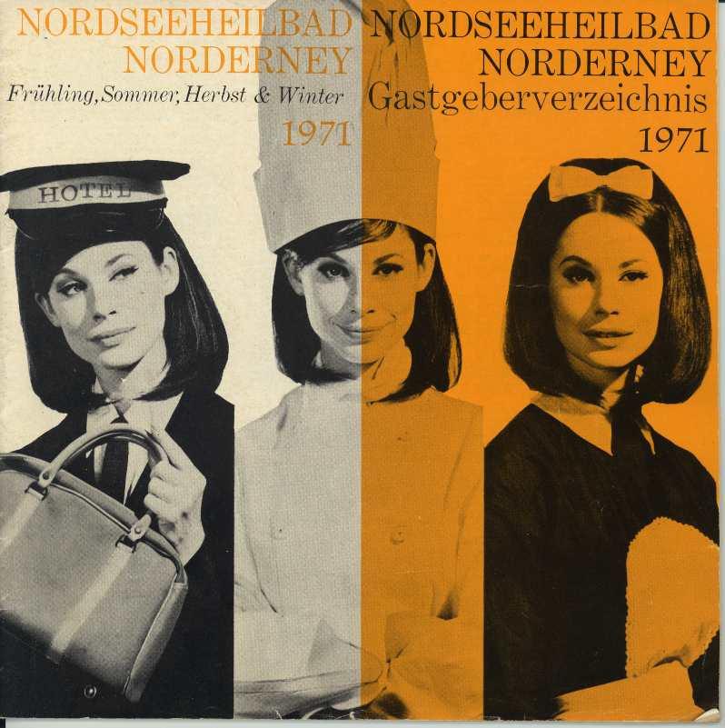 Norderney - Gastgeberverzeichnis 1971