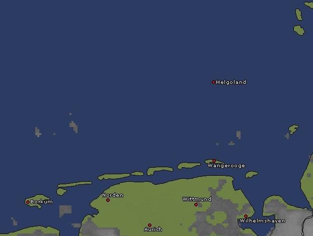 nordsee radarbild 27.09.2011