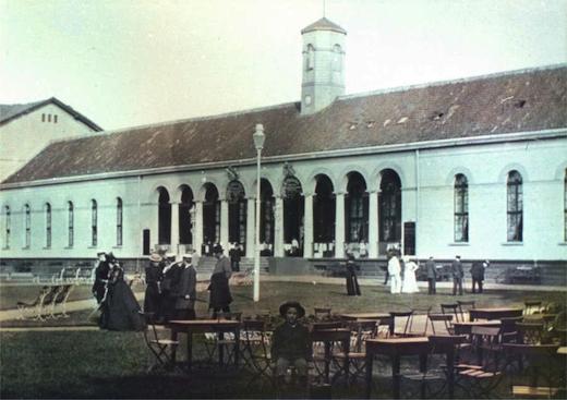 conversationshaus um 1900