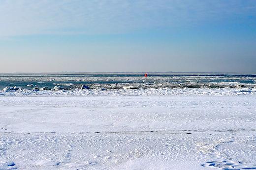 Bild zum Sonntag Winterstrand