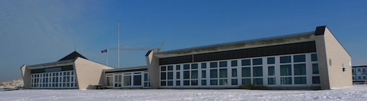 Liegehalle der Nordseeklinik