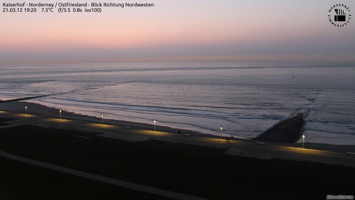 Norderney Sonnenuntergang 19.20