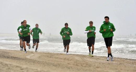 Werder Bremen auf Norderney