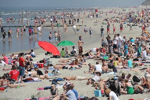 Pfingsten Strand