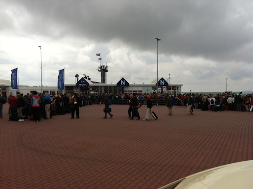 Norderney Abreise 2