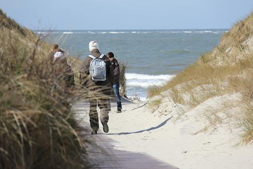 Strandaufgang Weiße Düne Norderney