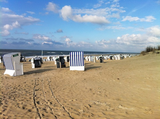 Gestern am Strand von Norderney