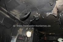 Brandherd - Foto Feuerwehr Norderney