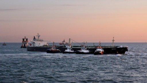 Tanker auf Grund Norderney Blog