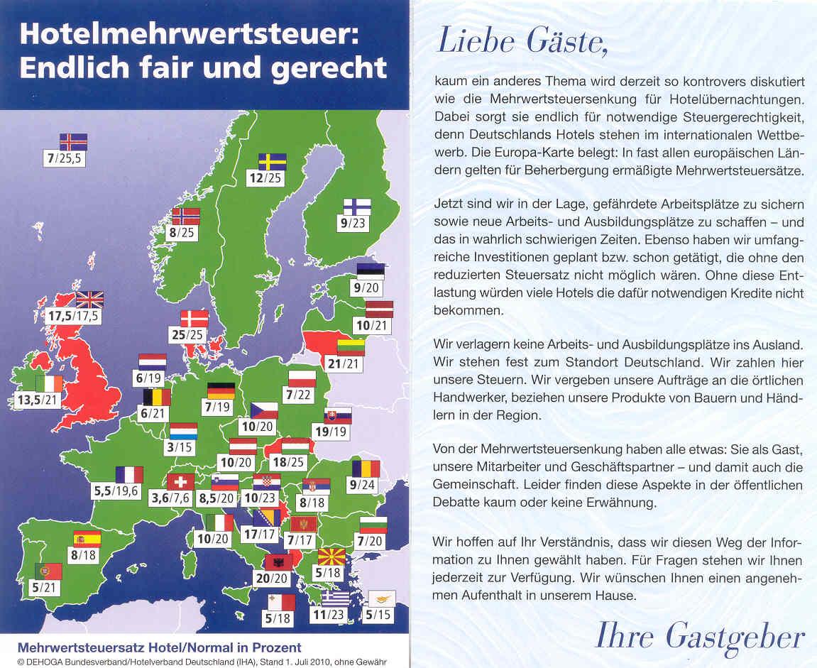Hotelsteuer Norderney