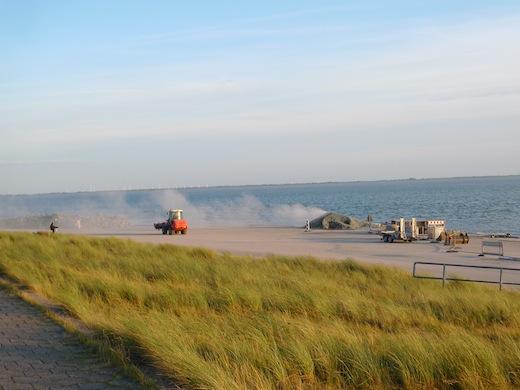 Norderney Bagger Weststrand