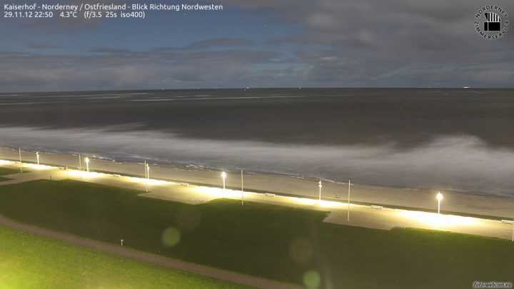 Norderney Webcam Kaiserwiese
