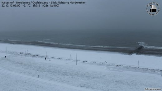 Norderney Weihnachtswetter
