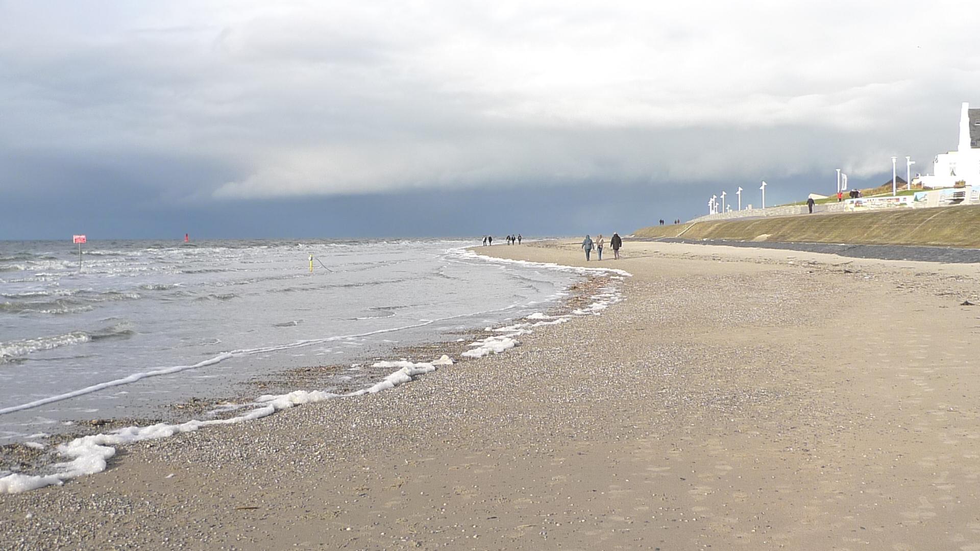 Norderney leerer Strand