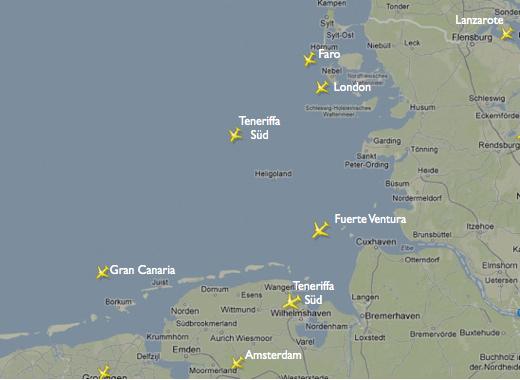 Norderney Luftraum