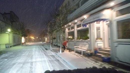 Norderney Schneeschieben