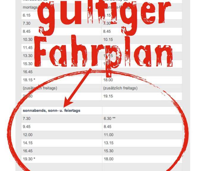 Norderney Fährplan