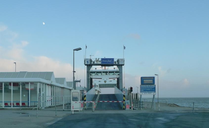 verwaister Anleger Norderney