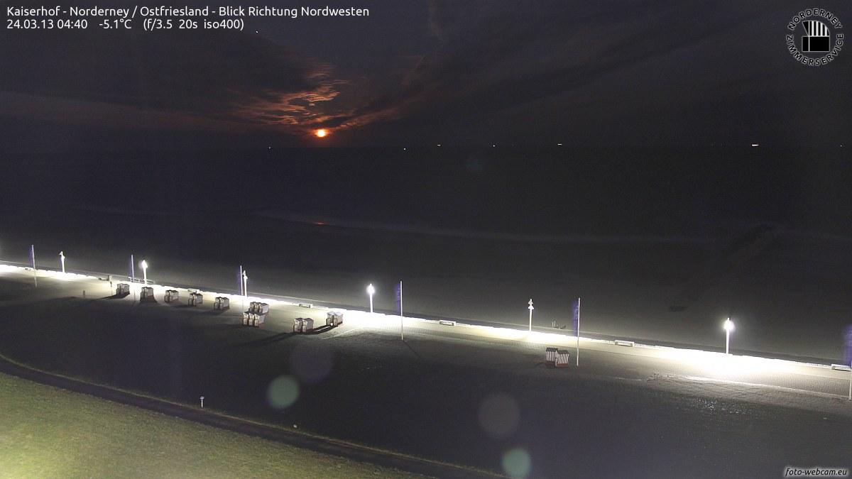 Norderney Mond