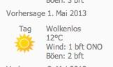 Norderney 1 Mai