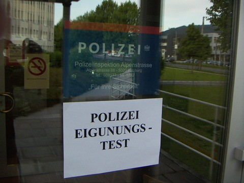 polizei-eignungstest in Ostfriesland