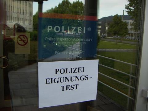 polizei-eignungstest in Ostfriesland