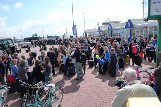 Norderney Abreise 12.05.