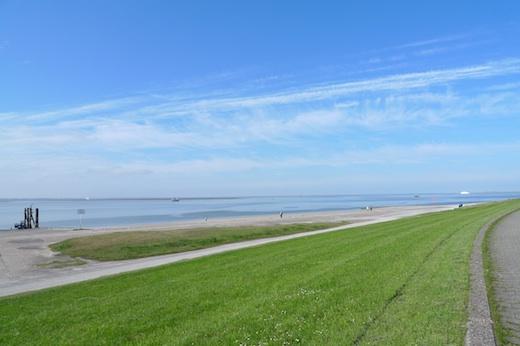 Norderney im Süden kein Seenebel