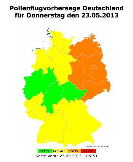 Deutschland Pollen